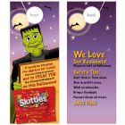 Tips & Treats with Skittles attached
