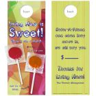 Referrals are Sweet with Two Lollipops attached