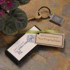 Great Living Key Chain with Engraving