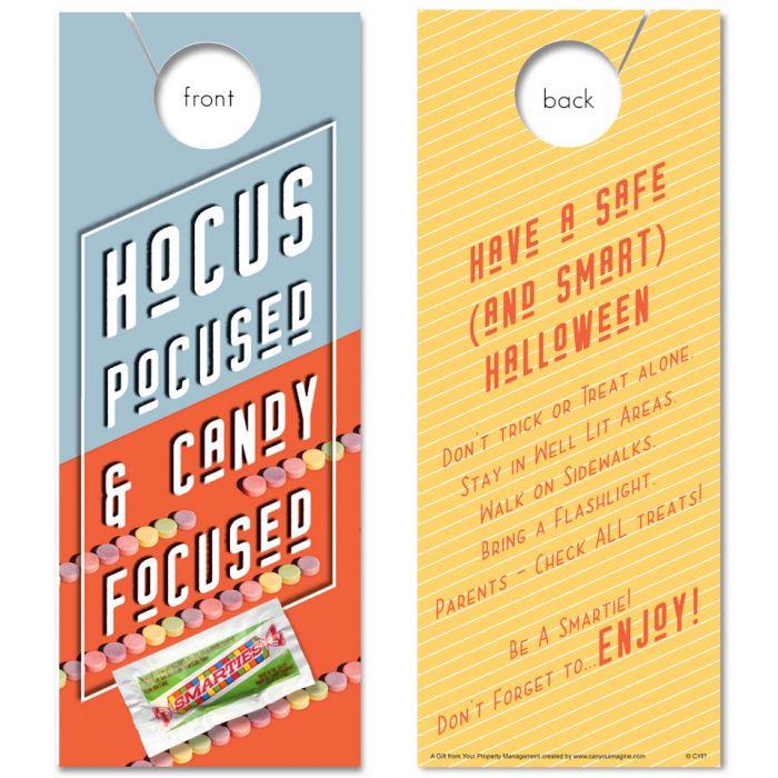 Hocus Pocus with Smarties Candy (Halloween)