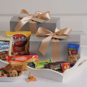Sterling Snacks with Choice of Ribbon Color