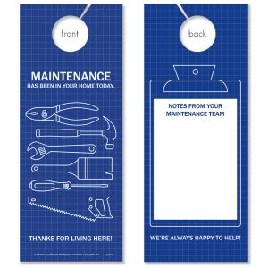 Blueprint Maintenance