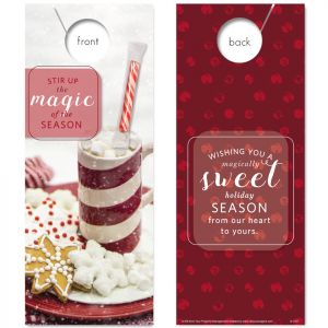 Sweet Season (Holiday) with Petite Peppermint Stick attached
