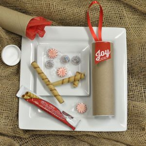 Joy at the Door without Gift Tags