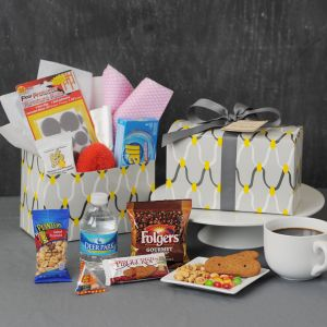 Links Snacks & Essentials with Floor Protectors