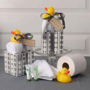 Just Ducky Bath Stack with Rubber Duck