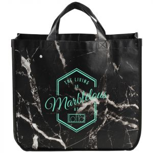 Marble Laminated Tote