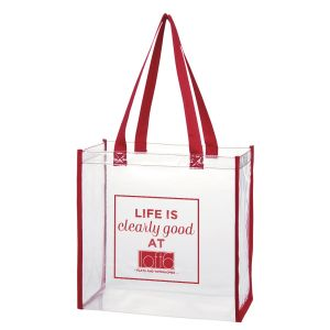 NEW! Clear Tote Bag