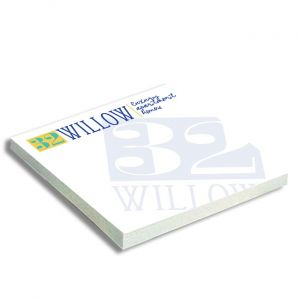 Full Color Adhesive Notepad 3x3