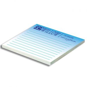 Full Color Adhesive Notepad 4x3