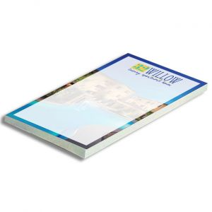 Full Color Adhesive Notepad 4x6