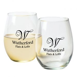 15 Oz. Stemless Wine Glasses