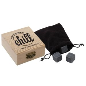 NEW! Whiskey Stones in Wood Box