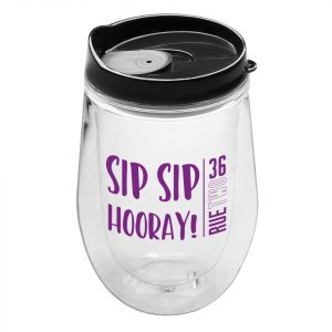 Double Wall Stemless Wine Tumbler