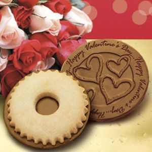 Valentine's Chocolate Cookies (Priced per case of 50 cookies)