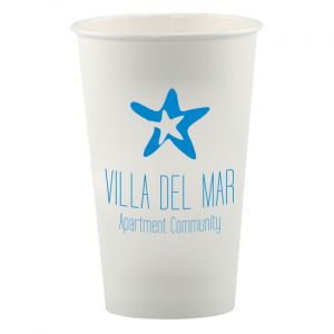 Hot/Cold Paper Cups, 16 oz.