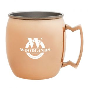 Copper Plated Stainless Steel Mug