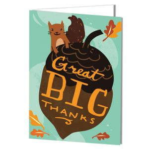 Appreciation-Big Thanks Card with Imprinting