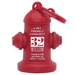 Pet Waste Container-Fire Hydrant