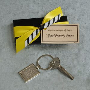 Silhouette Key Chain  with Imprinting