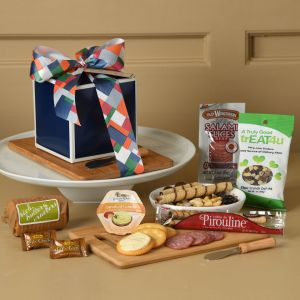 Anniversary Smorgasbord with Wood-Handle Spreader & Cutting Board