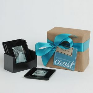 Coast Awhile Coasters (with photo frames)