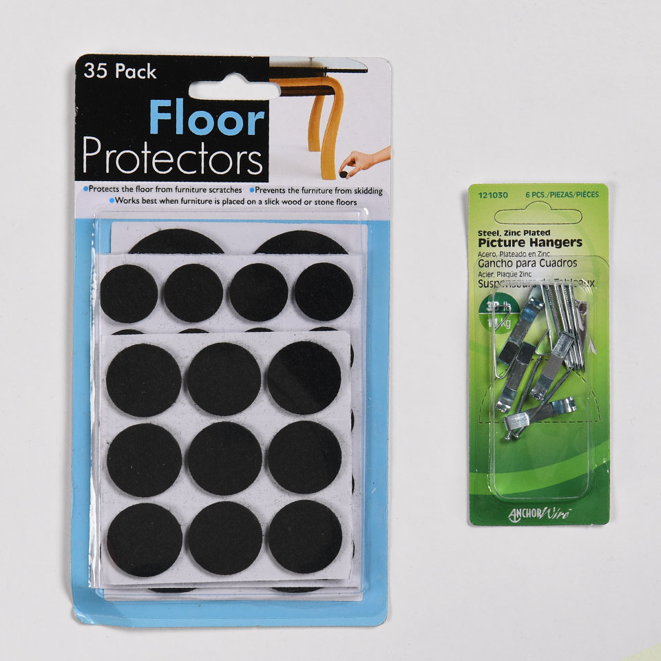 Glam Snacks & Essentials with Floor Protectors and Picture Hangers image