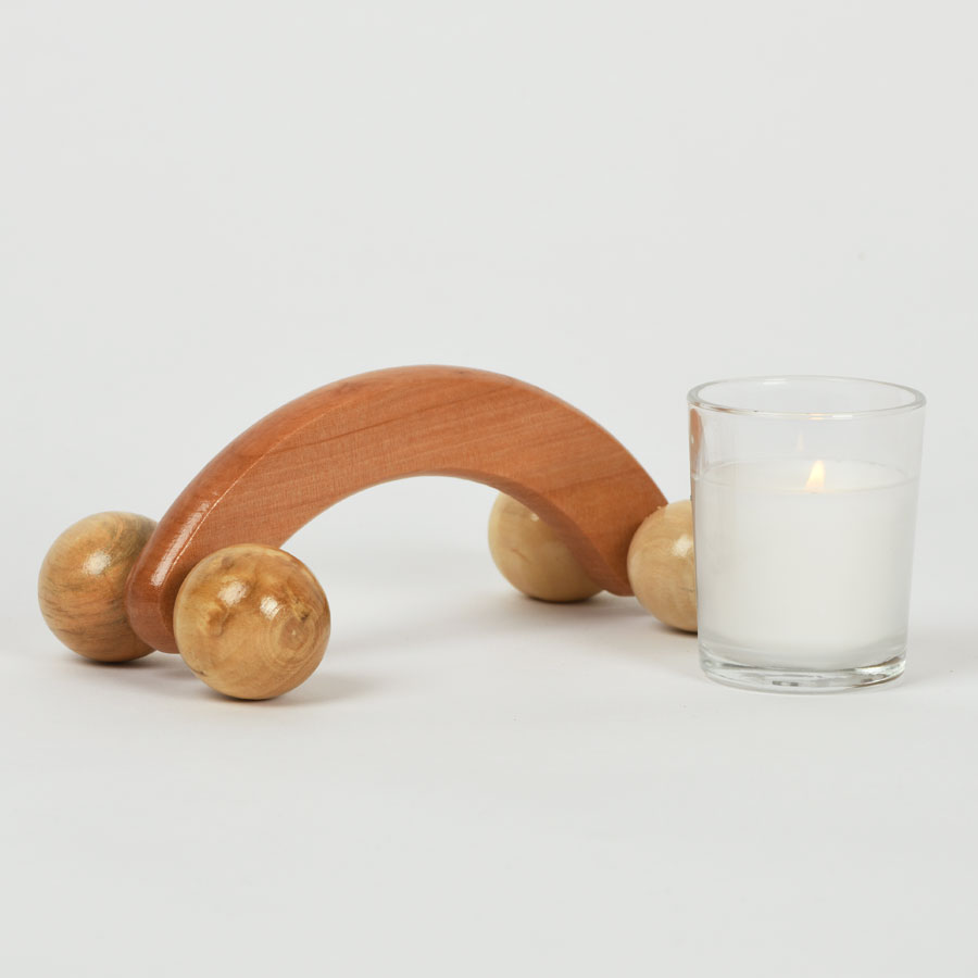 Revive + Indulge with Massager and Candle image