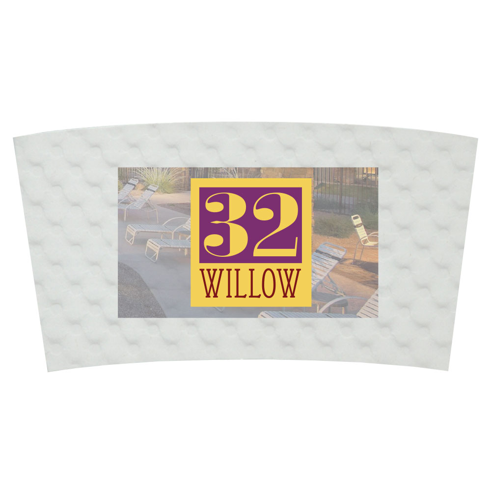Coffee Cup Sleeve-Full Color image