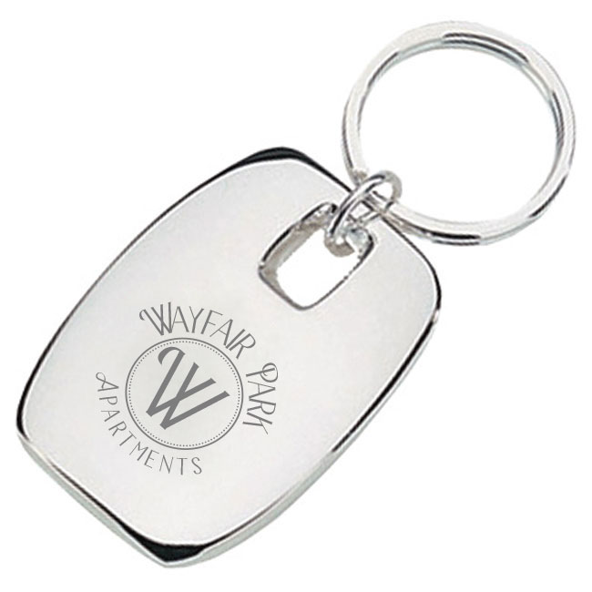 Live Well Key Chain in Box with Engraving image
